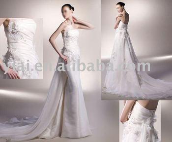 GG0933 newest arrival DROP shipping high quality beach mermaid Wedding gown 2011