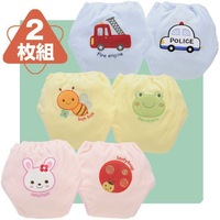 24 pieces/lot- 6 designs/waterproof cotton potty training pants/4 layers diaper pants/Cotton training pants