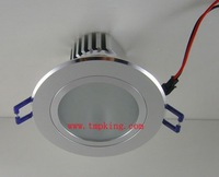 3*1W Ceiling Light with 4,000 to 4,500lm Luminous Flux and 15/25/45/60/90  Beam Angle