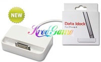 Freeshipping USB Cable Charger Data iDock for iphone4G for iPod Nano Touch