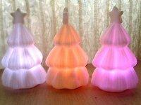 50pcs Led christmas tree lights led lamp multicolor LED light free shipping