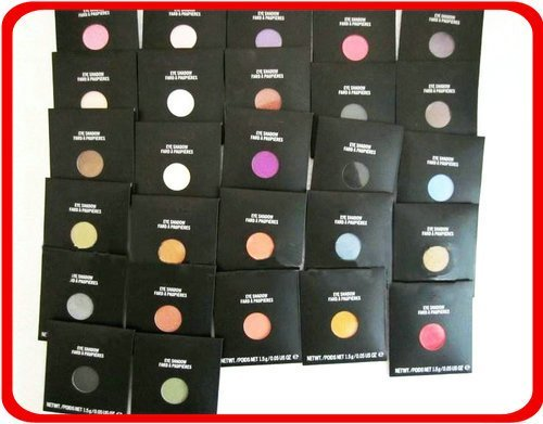 Free shipping!!! New Makeup Eye Shadow FARD PAUPIERES 1.5g,27colors in paper bags(30pcs/lot)(China (Mainland))