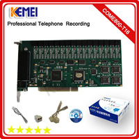 16 ports recorder phone voice digital recording card/record calls anytime