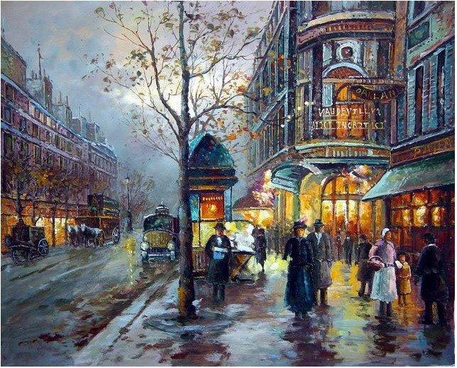 Online kopen wholesale parijs straat schilderen uit china parijs straat schilderen groothandel - Landscaping parijs ...