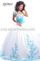 2011 stunning  bright  ball gown QU014