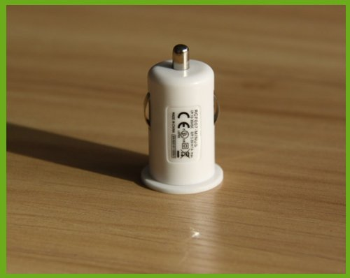 New mini car charger adapter DC5.0V/1000mA(China (Mainland))