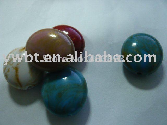 DIY colorful beads,19*26mm fashion beads/plastic string beads,150pc/bag(China (Mainland))