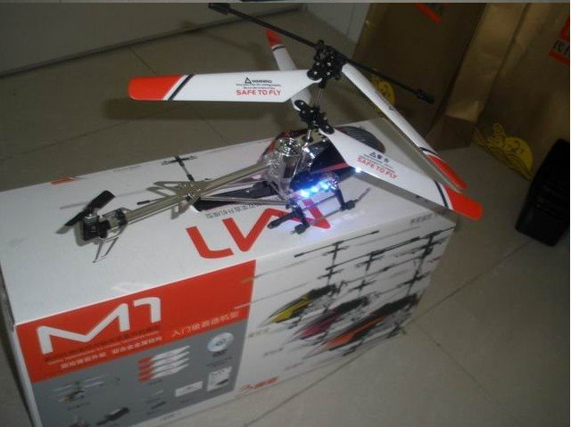 Free shipping Best price very high and Sustained flying RC helicopter M1 2010 new(China (Mainland))