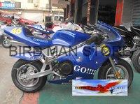 49cc Gas Powered Poket Bike rockets 2 stroke Mini motorcycle scooter
