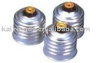Guaranteed 100% iron-zinc lamp cap E27 cheap shipping New 100%
