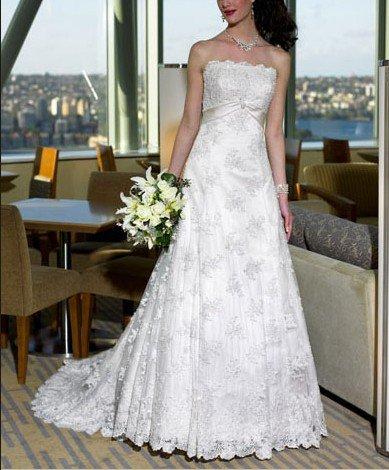 Lhui moda 12.082 vendas quentes bordado do cetim do projeto e aceitar vestidos especiais de casamento, vestidos de noiva bordado(China (Mainland))