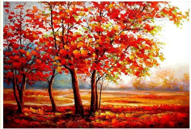 Autumn Leaves Painting Autumn Leaves Painting