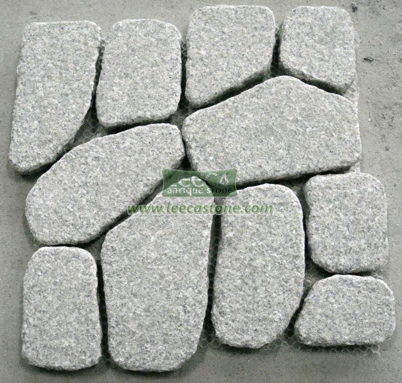 Granite Stone Blocks Light Gray Granite Stone