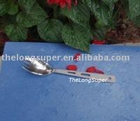 Titanium outdoors goods--Titanium Flatwares--Titanium forklike Spoon A025