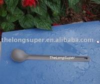 Titanium outdoors goods--Titanium Flatwares--Titanium Long Handled Spoon