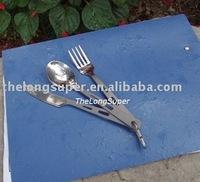 Titanium outdoors goods--Titanium Flatwares--Titanium Flatware set 3 pcs  (A015)