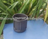 Titanium Outdoors Products--Titanium flatwares--Titanium Mug (450ml, A007)
