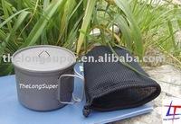 Titanium Outdoors Products---Titanium Pot / Kettle (900ml, A004)