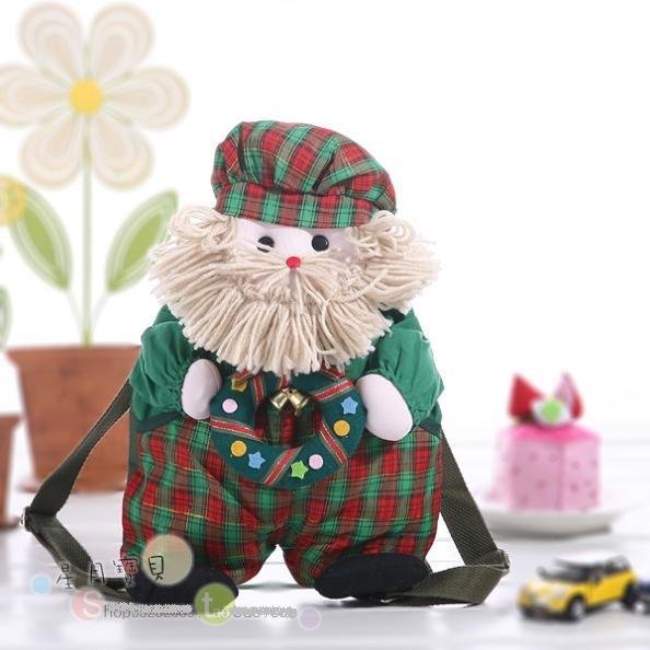 Feliz natal : o mais baixo preço à venda para crianças schoolbag.backpack.bag.gif t presente grátis frete bonito e belo crianças(China (Mainland))