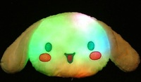 EMS Free Shipping 10pcs/lot   color changing LED cartoon pillow,this series pillow can be mixed selled