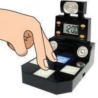 2 Pcs/Lot Finger Dance Alarm Clock novelty alarm clock /personalized clock+ePacket Free Shipping