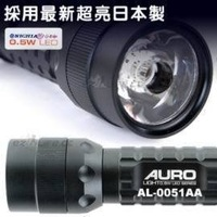 AURO 0.5W special red diamond quality small portable flashlight bright flashlight imports