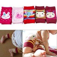Wholesale-Free shipping 20pairs 5 designs/Leg warmers/Baby socks/Baby knee warmers/Baby knee pad