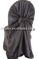 free shipping taffeta black  self -tie chair cover/chair bag/pillowcase chair cover
