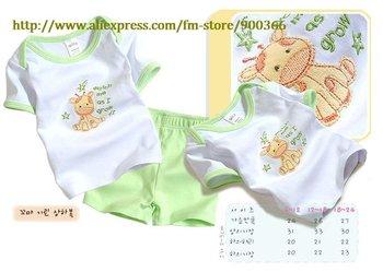 baby clothing, baby short clothing ,infant clothing  One set Fashion design  Free shipping
