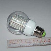 90% power saving E27 220V 4.6W white light 78 LED lamp bulb 360 degree