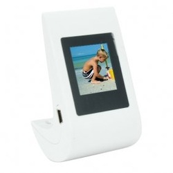 hot sell free shipping Digital Picture Frame with 1.5 Inch LCD Screen (Tumbler Ed.) - Plug & Play(China (Mainland))