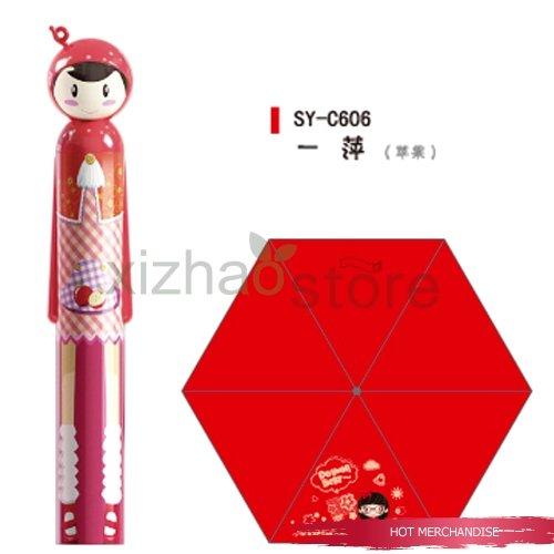 Free shipping! New Listing / blueberry fruit doll umbrella / blueberry umbrella / / parasol / sun /gifts(China (Mainland))