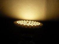 best  selling  220V E14 Warm White 60 SMD LED Spot Light Bulb Lamp