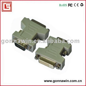 FREE SHIPPING/DVI to VGA Adapter(China (Mainland))
