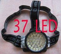 free shipping 37 LED 4 mode Headlamp Waterproof Camping Flashlight Headlight