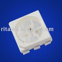 5050 SMD LED, green color