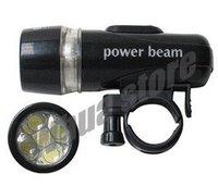 8pcs Torch Bike Bicycle 5 LED Head Light