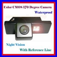 CAR REAR VIEW REVERSE BACKUP COLOR CMOS/170 DEGREE/WITH REFERENCE LINE/WATERPROOF/NIGHT VISION CAMERA FOR CITROEN C4/CITROEN C5