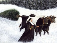 Free shipping reproduction  Art Lowell Herrero decoration P08 oil painting new arrival