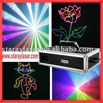 2watt RGB full color laser light,laser lighting