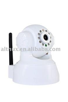 "High Resolution 1 / 4 ""CMOS image sensor Mulit-Function IP Camera"