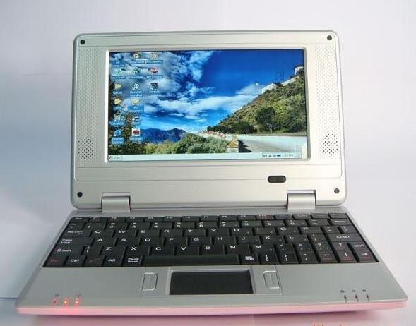 "mini computer, wifi Windows CE system 7"" portable laptop, Pocket netbook computer, mini notebook(China (Mainland))"