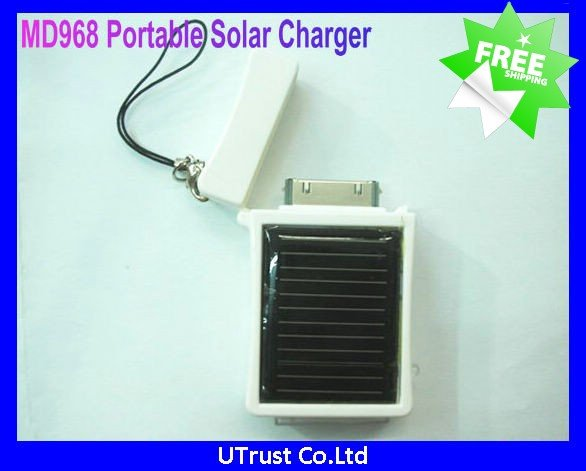 Free Shipping Best Selling Portable Solar Charger for Iphone Cellphones(MD968)(China (Mainland))