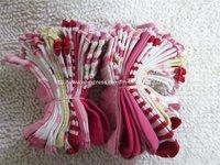 10 designs 60 pairs/lot Baby socks infant cotton socks/Girl's Flower socks