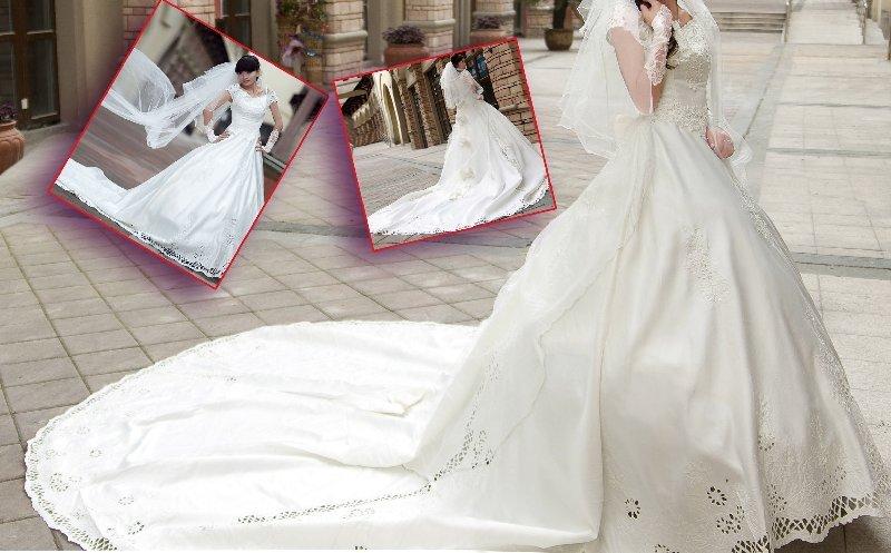 Moda de luxo casamento longo atraso colete, personalizados casamento TWHS-008 livre(China (Mainland))