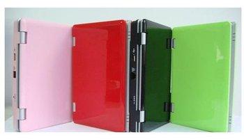 7 inch Mini Netbook Laptop Notebook WIFI Windows CE 6.0 4GB HD +drop shipping