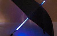 10PCS/LOT Christmas gift Cool Illuminated LED Umbrellas Blade Runner Style led Umbrella