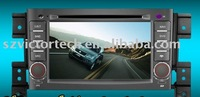 "7"" HD car DVD player for Suzuki Grand Vitara with GPS BT RDS IPOD TV"
