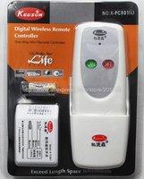 K06B Kedsum K-TC801L 220V AC INPUT Wireless 1 Channel Remote Control Switch