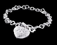 Free shipping NEW 925 sterling silver nice bracelets fashion jewelry Chain Charm Link S35